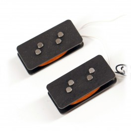 Nordstrand NP4 - P Style Split Coil Pickup , Angled Polepieces, 4 Strings