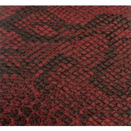 Tolex SnakeSkin Red Boa, SAMPLE