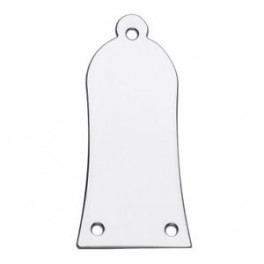 Truss rod cover, Chrome, Metal