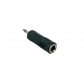 Verloop plug, 6,3mm jack female mono, 3,5mm jack male mono