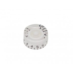 Speed knob (hatbox), transparent white