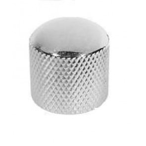 Dome Knob Chrome, Push on