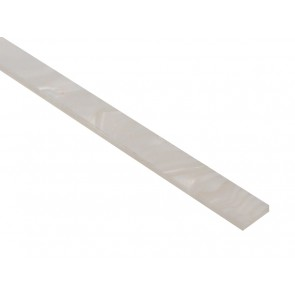Cab binding, white pearl 1400x8x1,5mm