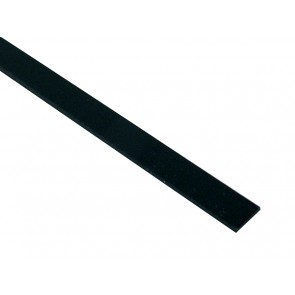 Cab binding, black 1700x5x1,0mm