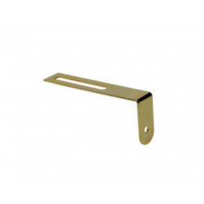 Pickguard bracket, gold, with mounting material, for LP-model
