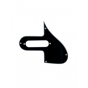 Pickguard electric mandolin, 3 ply, black