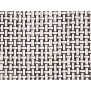 Grill Cloth White Cross SAMPLE