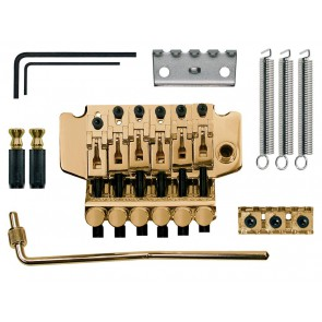 "Tremolo ""Floyd Rose"", single lock, goldplated"