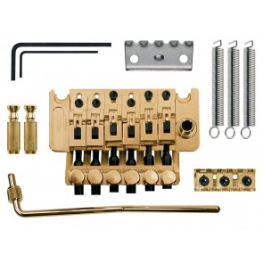 "Tremolo ""Floyd Rose"", double lock, goldplated"