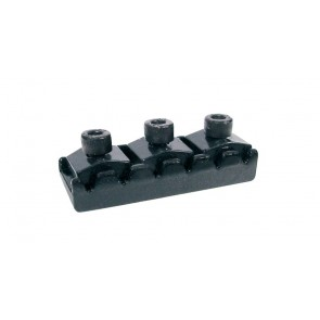 Toplock, topkam with string lock, zwart, Floyd Rose style, length: 4,26 cm