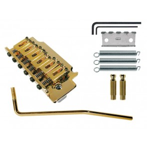 Tremolo Strat, pitch 10,5mm, gold, with 2 studs