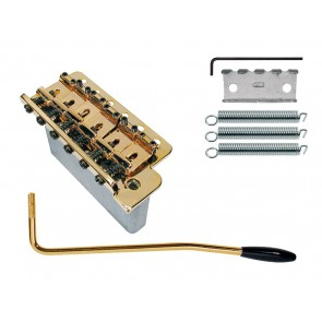 Tremolo Strat, pitch 10,8mm, gold