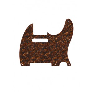 Pickguard Tele, 2 ply, tiger brown pearl, standard