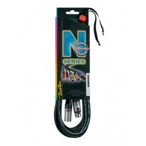 N-Series microfoonkabel, xlr-xlr 10 meter, Neutrik connectoren