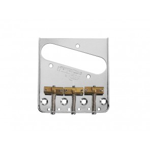 Wilkinson brug-staartstuk Tele, chroom, pitch 10,8mm, staggered brass saddles