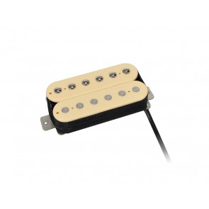 Power Rock humbucker, Alnico 5 bar, 4 conductors, waxed formvar wire, 9.6K neck, ivory