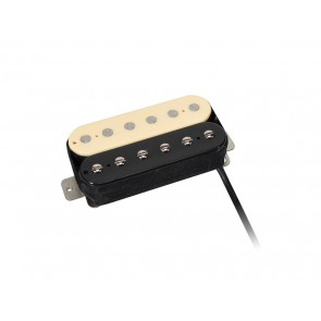 Power Rock humbucker, Alnico 5 bar, 4 conductors, waxed formvar wire, 15.0K bridge, zebra
