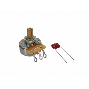 Fender Genuine Replacement Part 250K potentiometer .375  length bushing