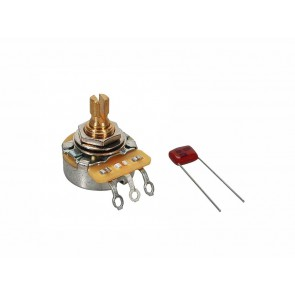 Fender Genuine Replacement Part 500K potentiometer .375  length bushing with .022mf capacitor