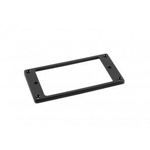 Humbucker frame, flat bottom slanted top, 3x5mm, black