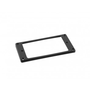 Humbucker frame, curved bottom slanted top, 3x5mm, black
