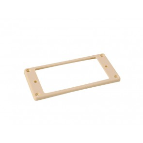 Humbucker frame, curved bottom slanted top, 3x5mm, ivory