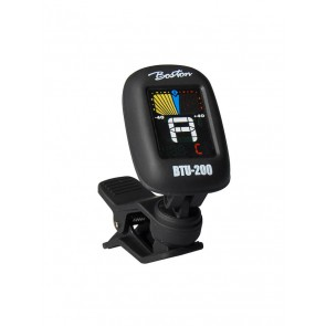 Chromatische clip-on tuner (ook G+B+U+V) full colour display, 430-450Hz