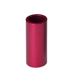 Fender anodized aluminium slide candy apple red (62mm)