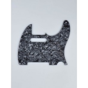 Fender Genuine Replacement Part pickguard Standard Tele 8 screw holes 1-ply black pearl