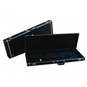 Fender deluxe case for Mustang/Musicmaster/Bronco Basses leather black tolex & black interior