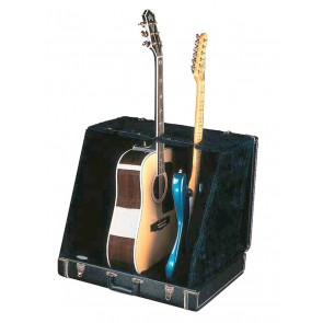 Fender guitar case stand holds 3 guitars black