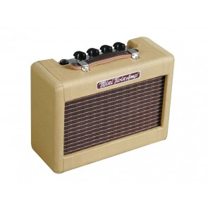 Fender battery amp 'Mini '57 Twin-Ampル' wooden housing 2W 2x2  speakers