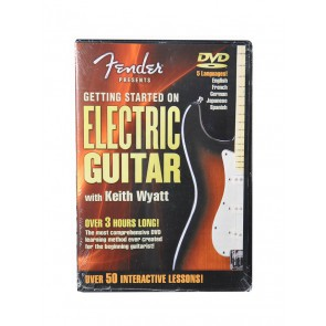Fender DVD 'DVD - Get Started Electric Guitar'