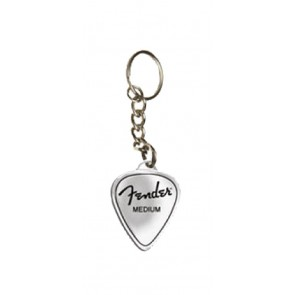 Fender medium pick key chain