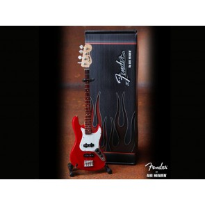 Fender mini guitar replica Fender Jazz Bass red