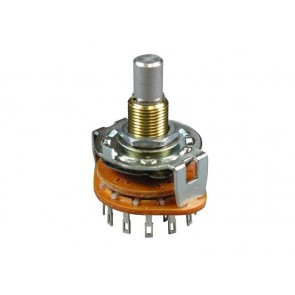 Alpha Rotary Switch 2 pole / 6 position