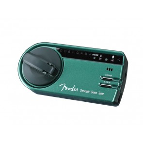 Fender chromatic tuner (wind-up) blister packed (weak battery, needs about 60 wind-ups at first use)