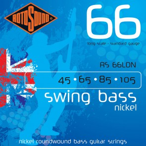 Rotosound Swing Bass 66 snarenset basgitaar, nickel wound, 45-105, standard gauge