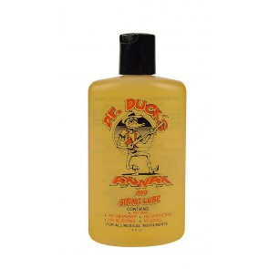Dr. Ducks  Ax Wax & String Lube, organic cleaner polishing moisturizer, 4 oz. flip top bottle