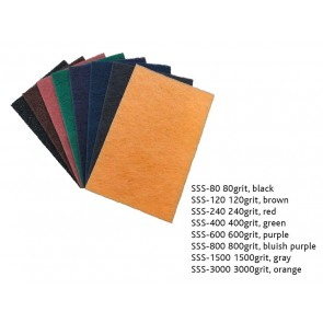 Shinex sanding sheet (not paper), 3000 grit, perfect for curved surfaces
