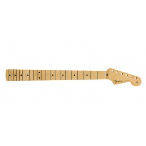 Fender Genuine Replacement Part 50's Stratocaster neck, 21 medium jumbo frets, maple fb, soft V-shape