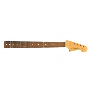 Fender Genuine Replacement Part Jazzmaster neck, 21 medium jumbo frets, pau ferro fb, C-shape