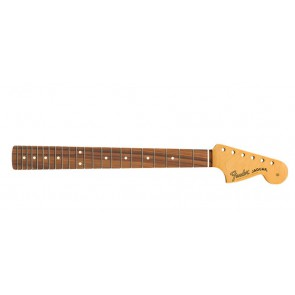 Fender Genuine Replacement Part Jaguar neck, 22 medium jumbo frets, pau ferro fb, C-shape