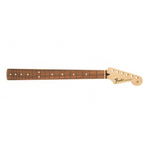 Fender Genuine Replacement Part Standard Series Stratocaster neck, 21 medium jumbo frets, pau ferro fb