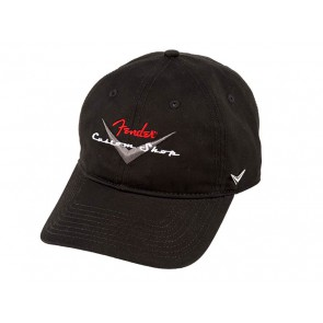 Fender Clothing Headwear custom shop baseball hat, black, one size fits most