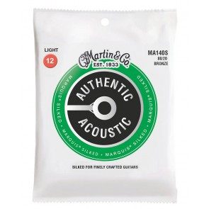 Martin Authentic Acoustic Silked string set 80/20 bronze, light