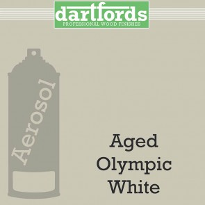 Dartfords Cellulose Paint Aged Olympic White - 400ml aerosol