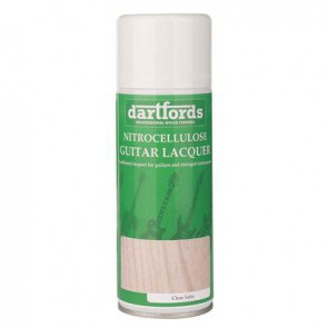 Dartfords Nitrocellulose Lacquer Satin Clear - 400ml aerosol
