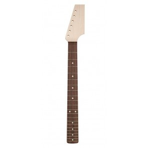 """Boston contemporary neck, made in Japan, ST style, maple/rosewood, half paddle, 9,5"""" radius, 6105 fretwire"""