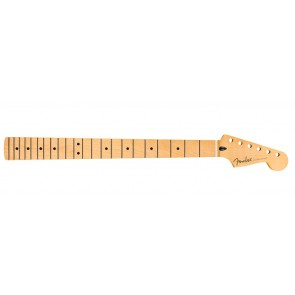 Fender Genuine Replacement Part sub-sonic baritone Stratocaster neck, 22 medium jumbo frets, 9.5 radius, maple fingerboard